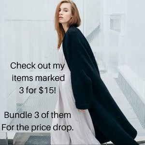 Bundle 3 items marked 3 for $15 for discount!